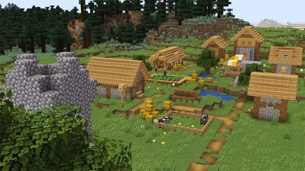 Деревня Майнкрафт