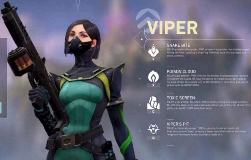 VIPER в игре Valorant