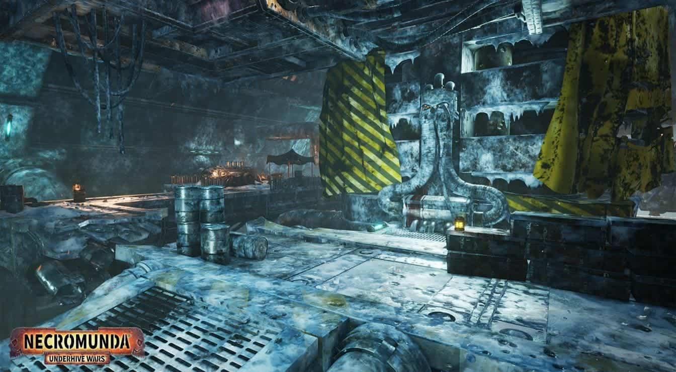 Necromunda: Underhive Wars локации в игре