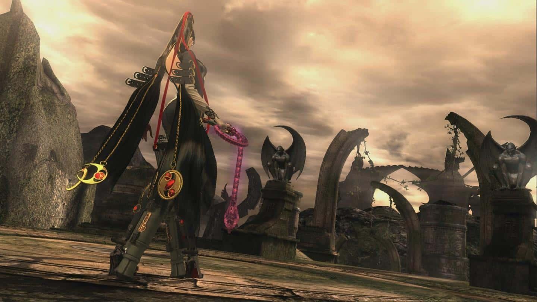 Bayonetta персонажи в игре