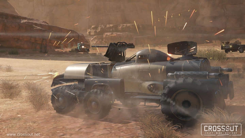 Crossout локации игры