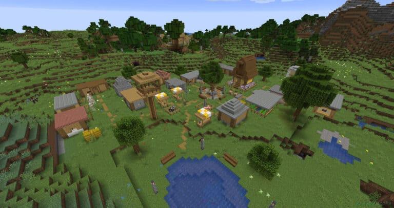 Как найти деревню в Майнкрафте?