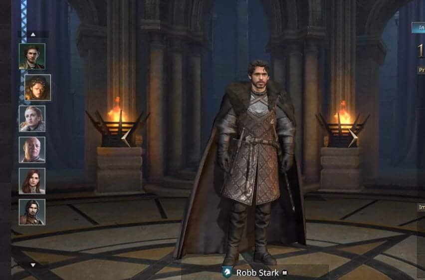 Выбор героя в Игра престолов