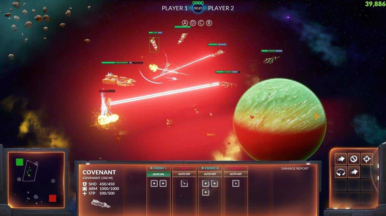 Starfall Online боевые корабли