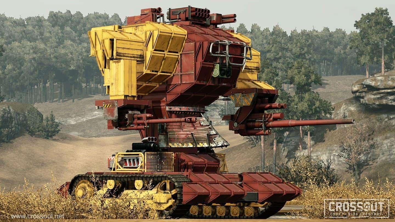 Crossout машиностроение