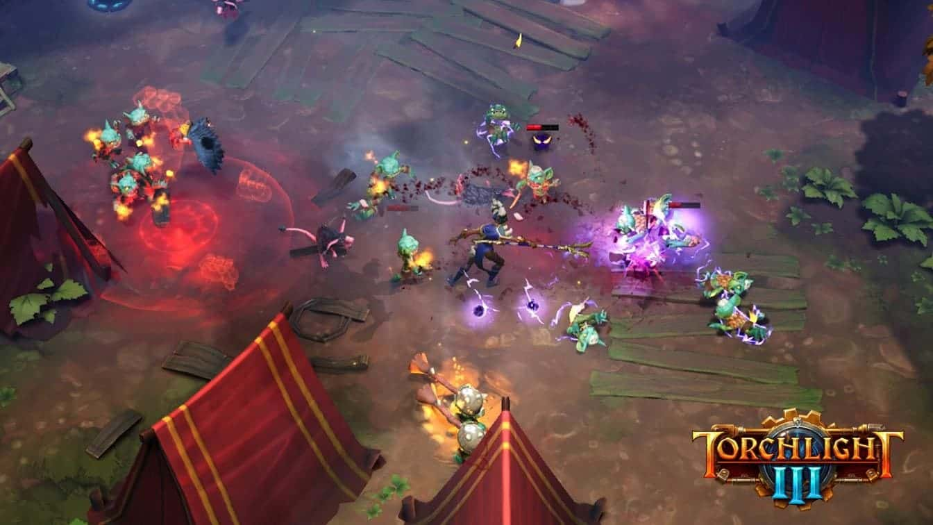 Torchlight III форты в игре