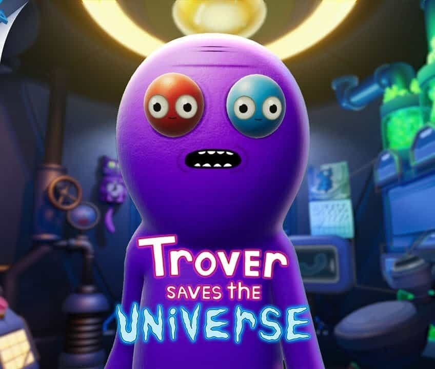 Обзор игры Trover Saves the Universe
