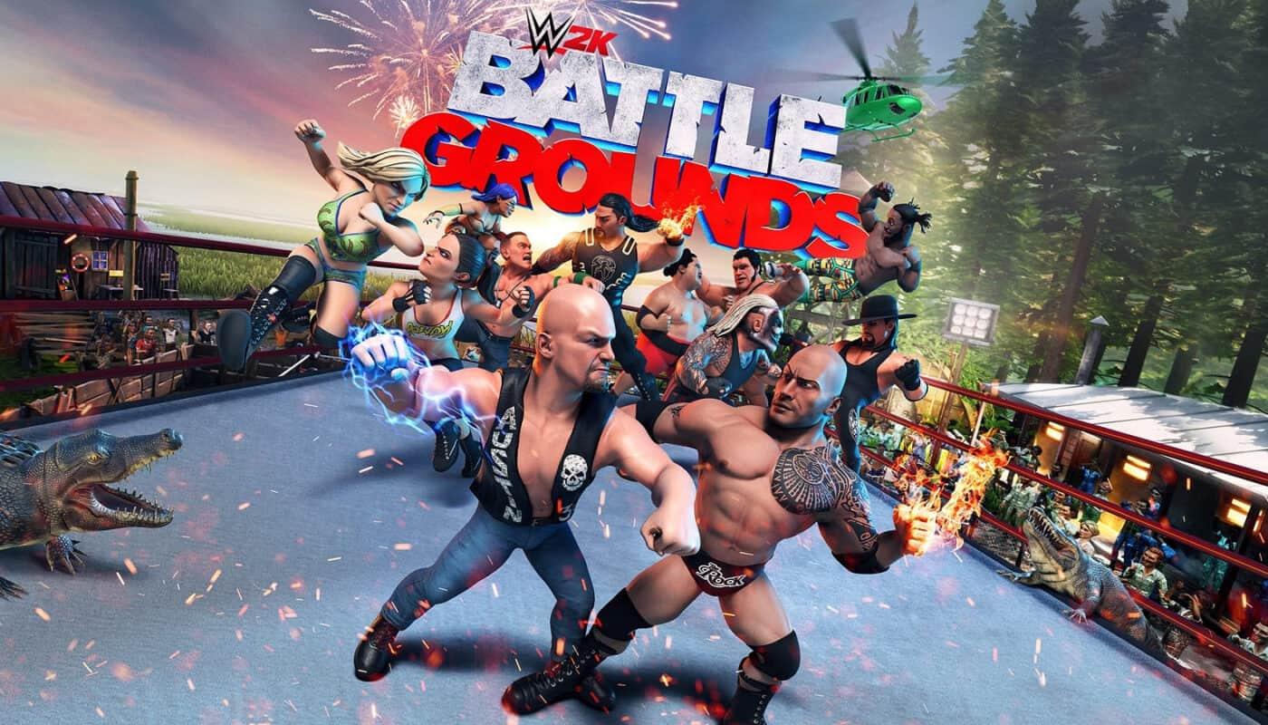 WWE 2k Battlegrounds обзор игры