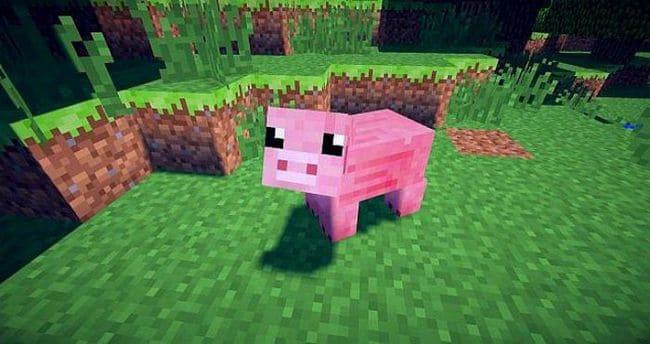 Как приручить свинью в Minecraft?