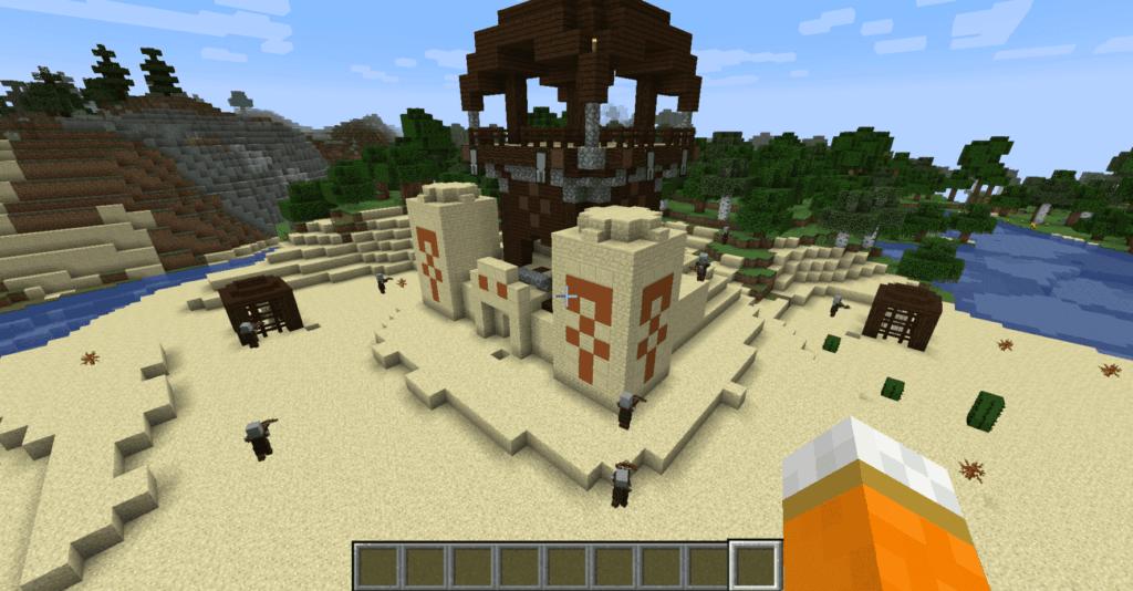 Аванпосты разбойников Minecraft