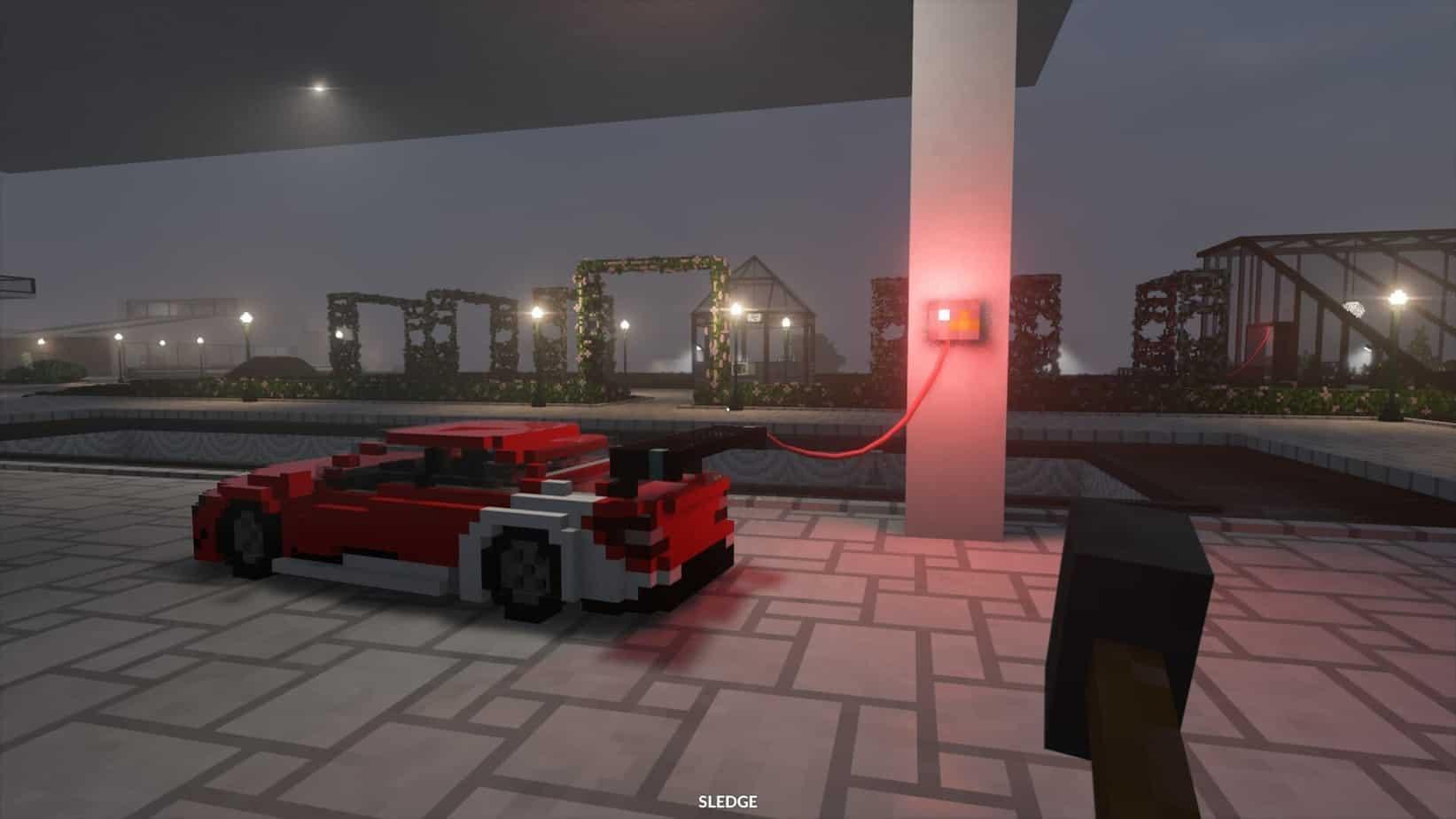Графика игры в Teardown