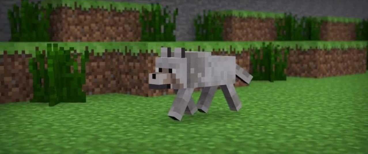 Волк в Minecraft