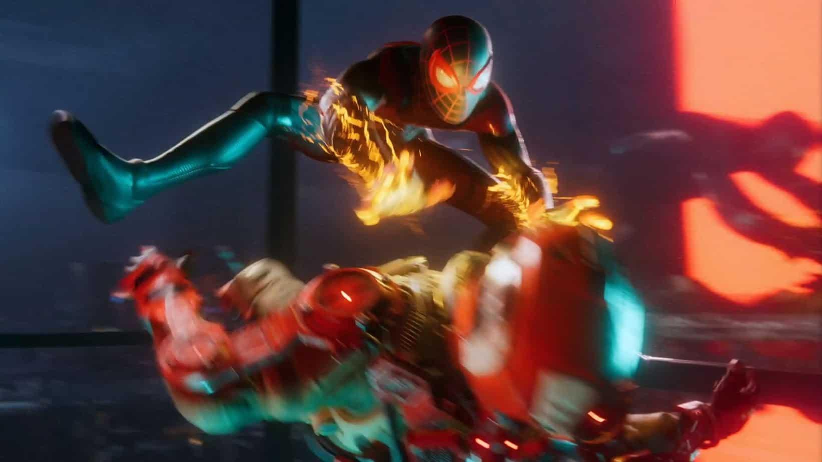 Spider-man: Miles Morales геймплей