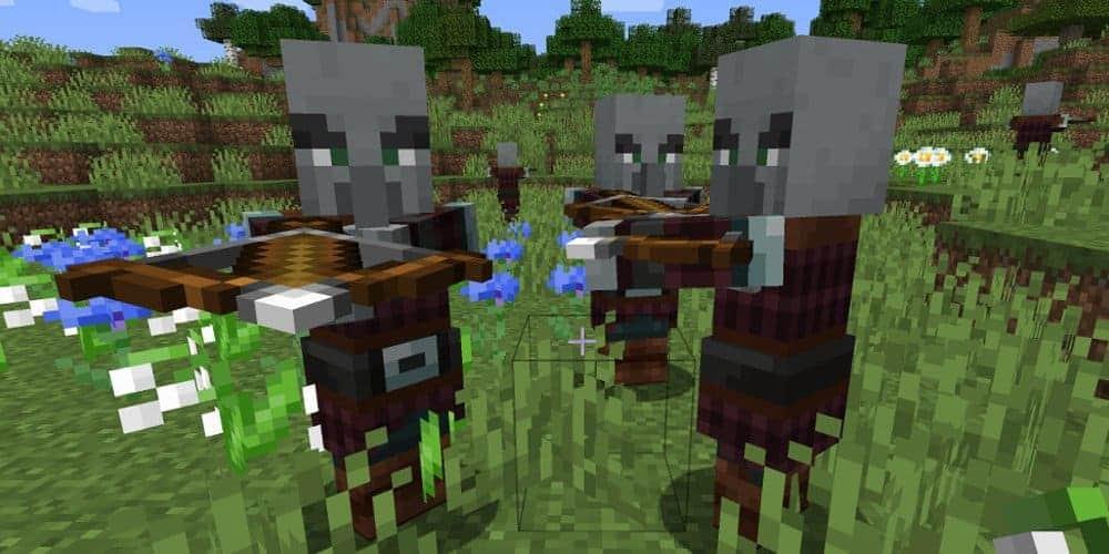 Виды разбойников в игре Minecraft
