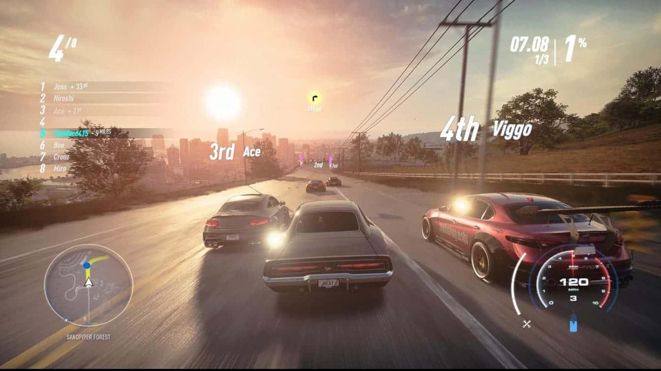 Need for Speed Heat сюжетная линия игры