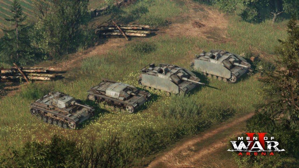 Soldiers Arena танки в игре