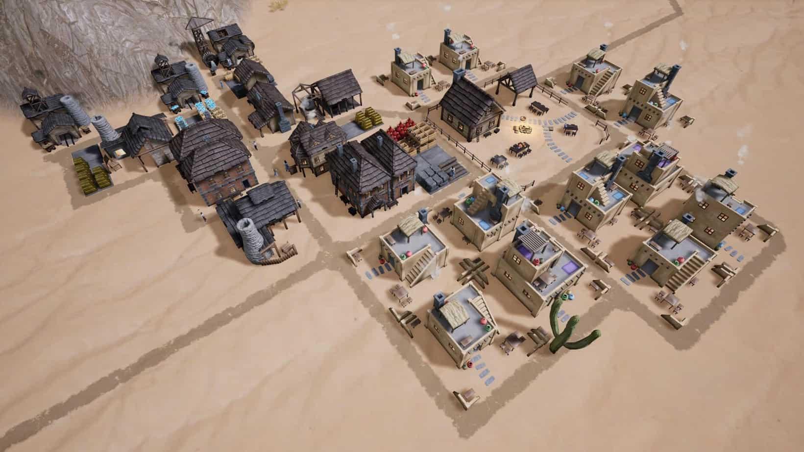 Kingdoms Reborn градостроительный симулятор