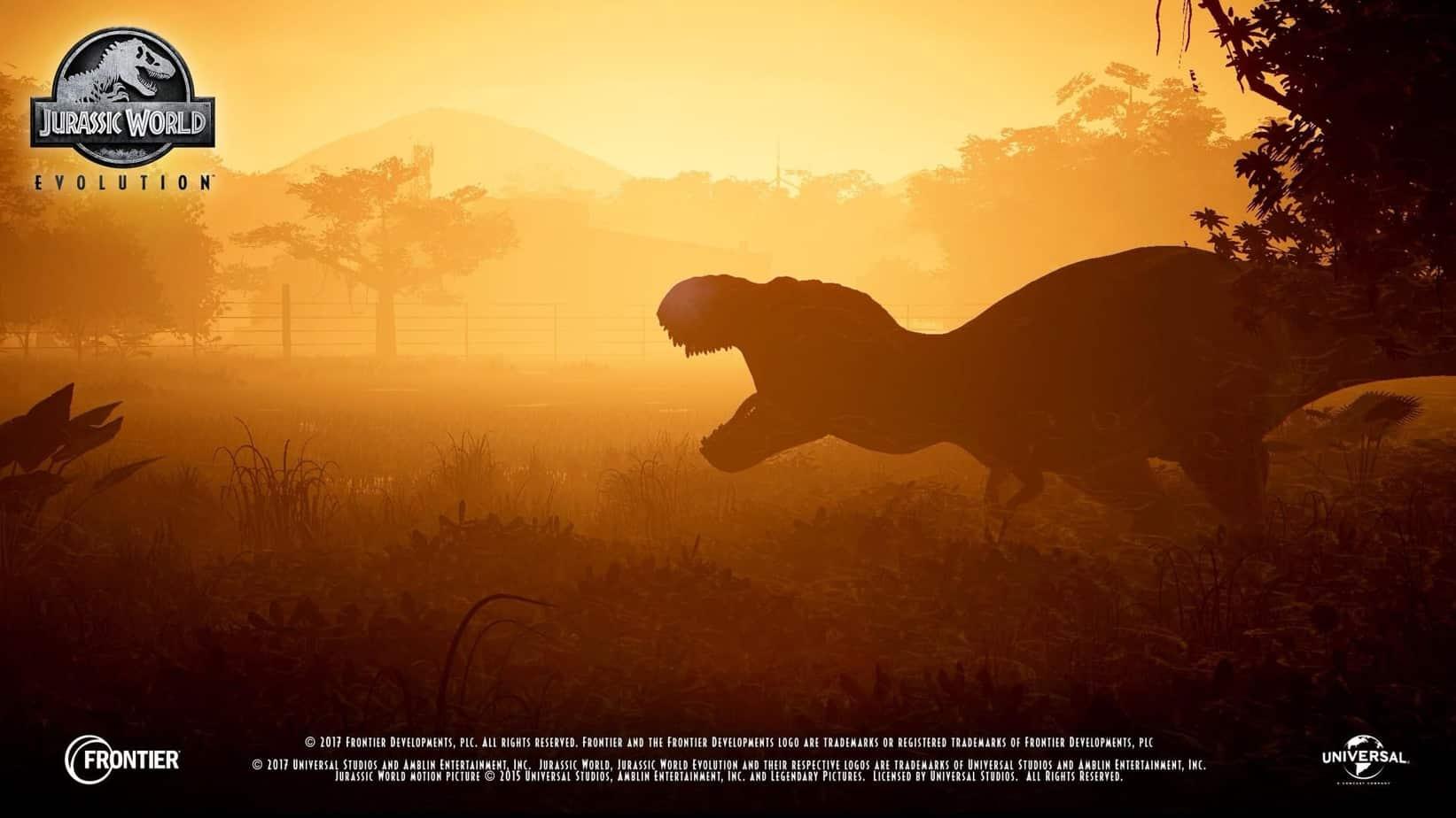 Jurassic World Evolution красочные динозавры