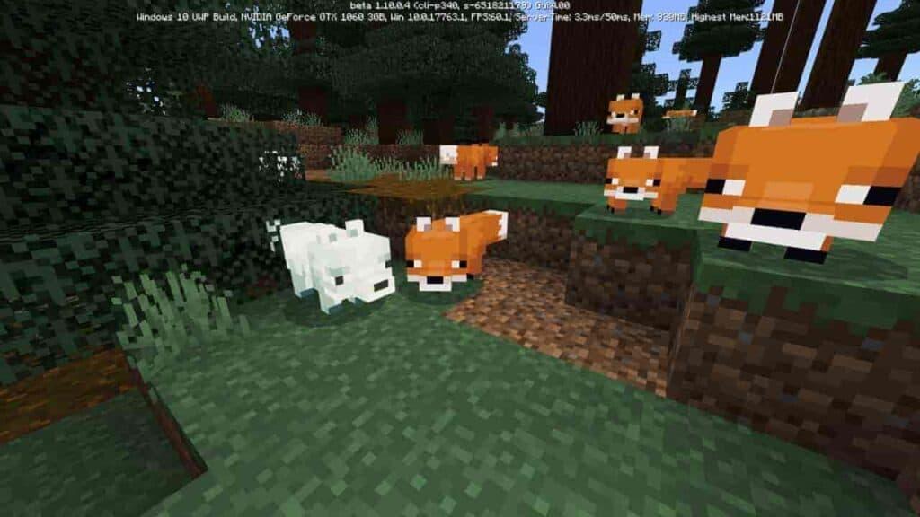 Как приручить лису в Майнкрафт