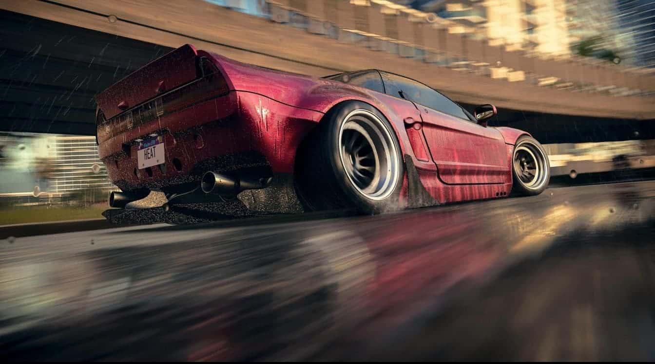Need for Speed Heat смена дня и ночи