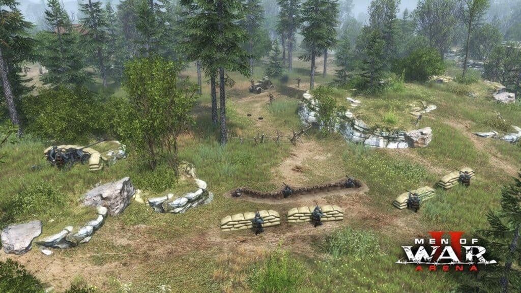 Soldiers Arena боевая система
