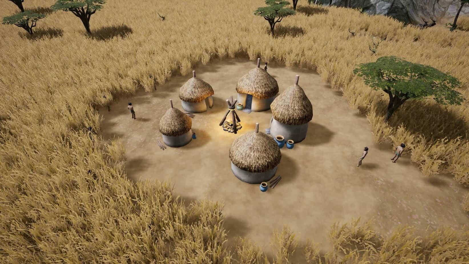 Kingdoms Reborn симулятор выживания