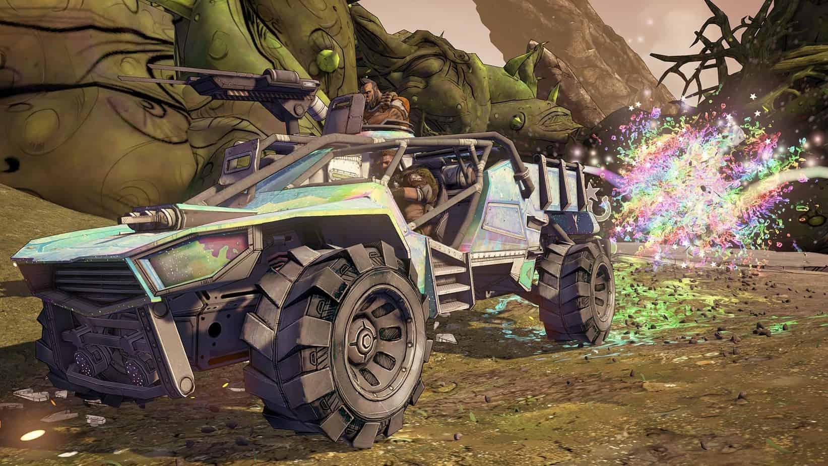 Borderlands 2 Commander Lilith & The Fight For Sanctuary транспорт для передвижения