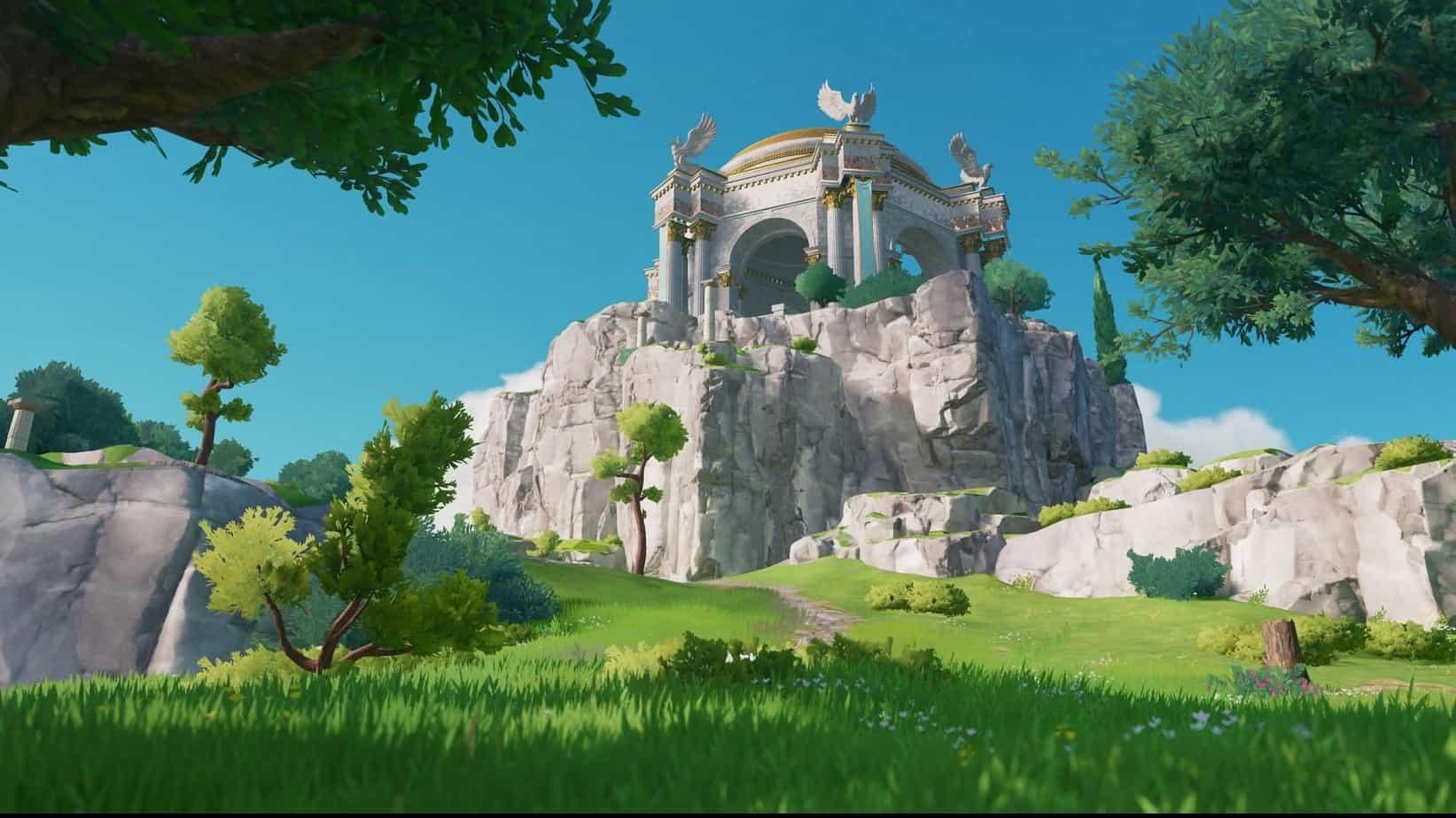 Immortals: Fenyx Rising геймплей игры
