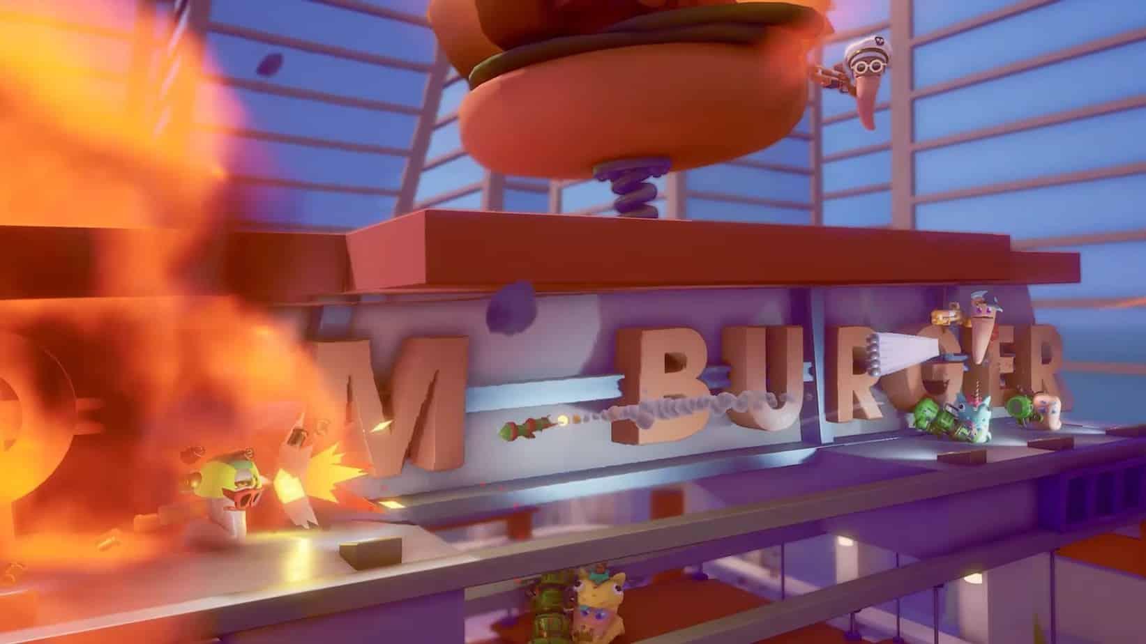 Worms Rumble (2020) режим королевской битвы