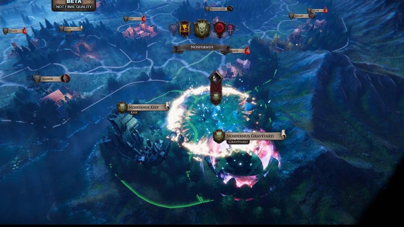 Immortal Realms: Vampire Wars сражения в игре