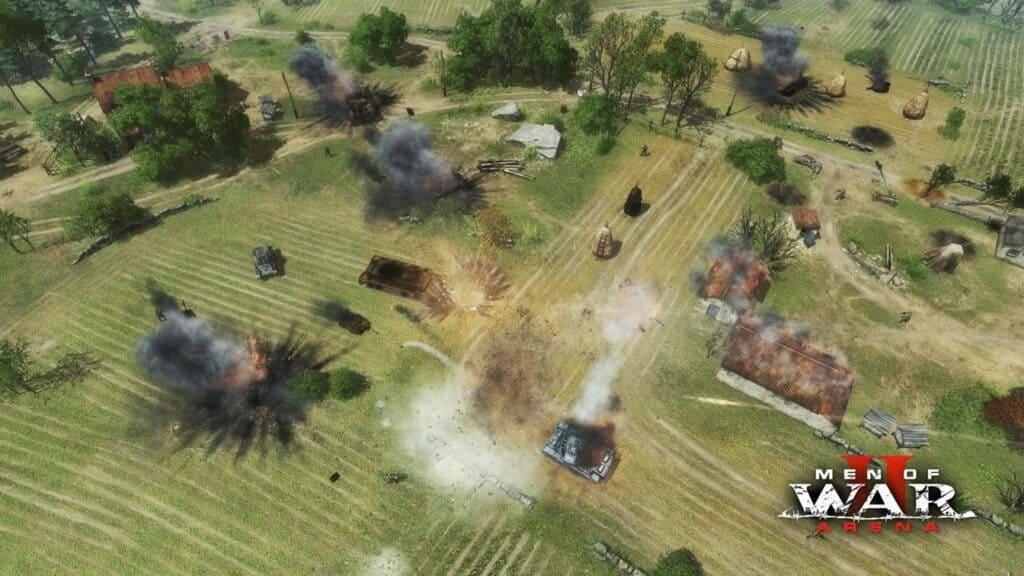 Soldiers Arena войска в игре