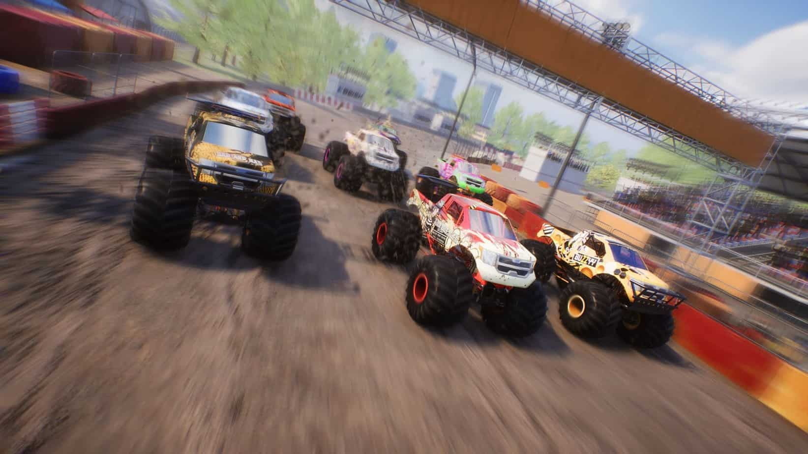 Monster Truck Championship механика игры