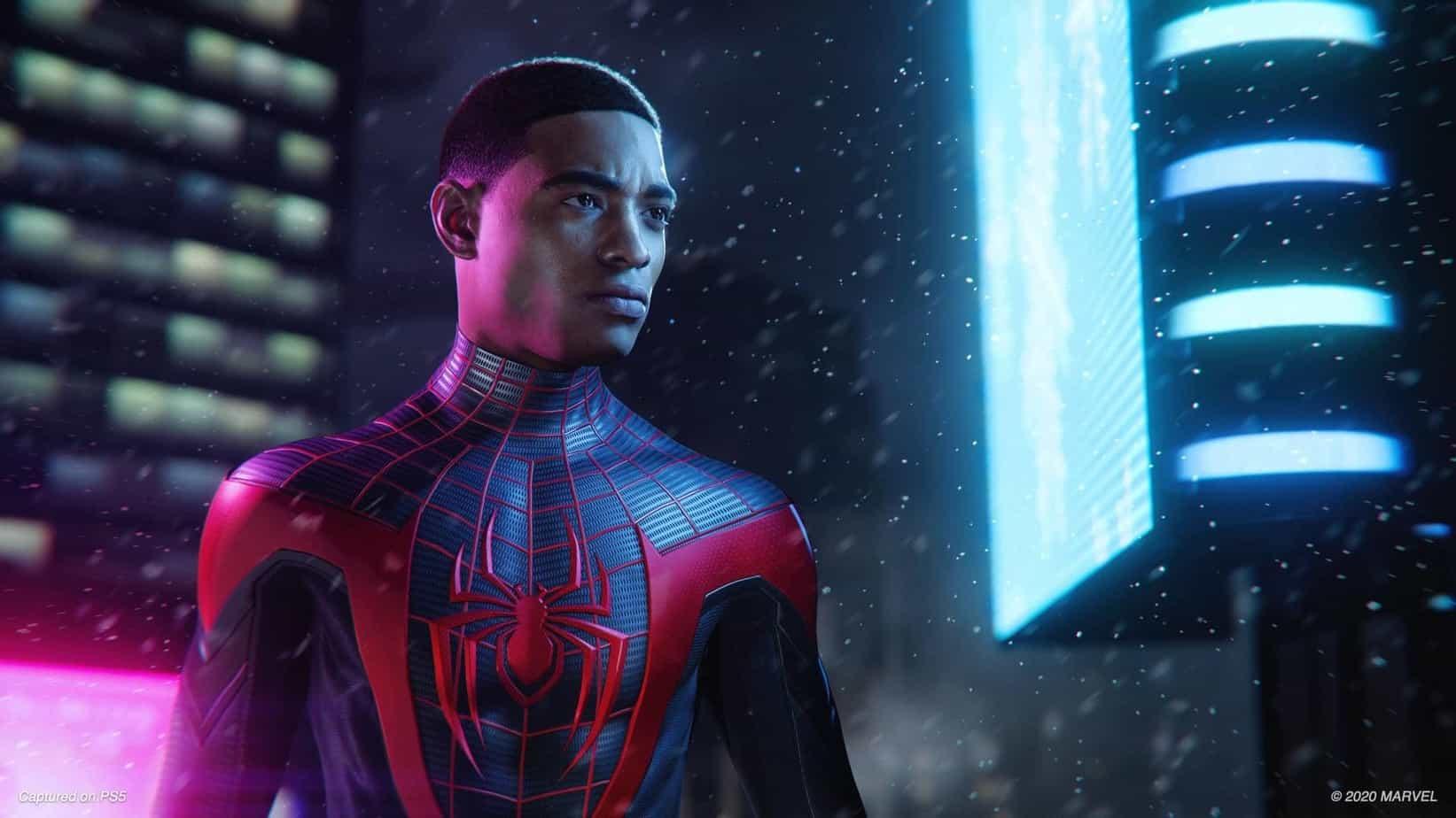 Spider-man: Miles Morales техническая часть