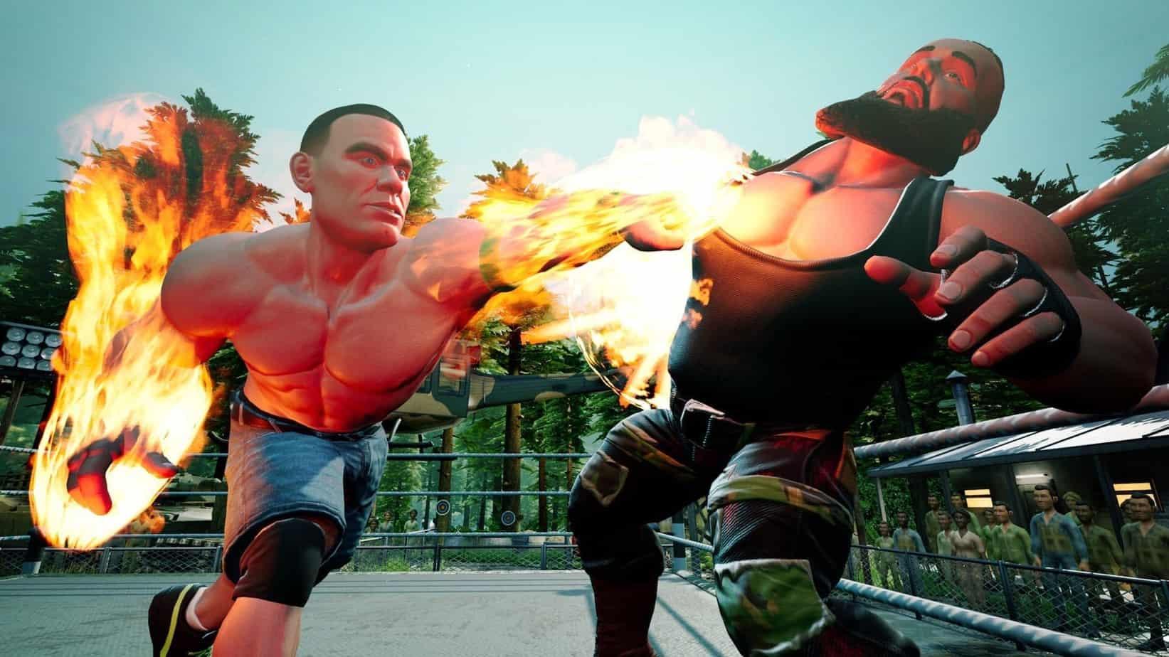 WWE 2k Battlegrounds графика