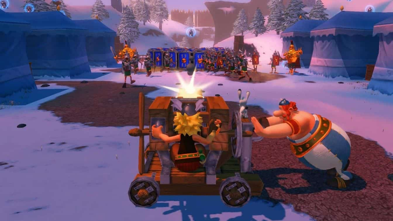 Asterix & Obelix XXL: Romastered геймплей игры