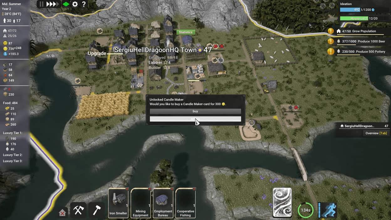 Kingdoms Reborn стратегия в мультиплеере