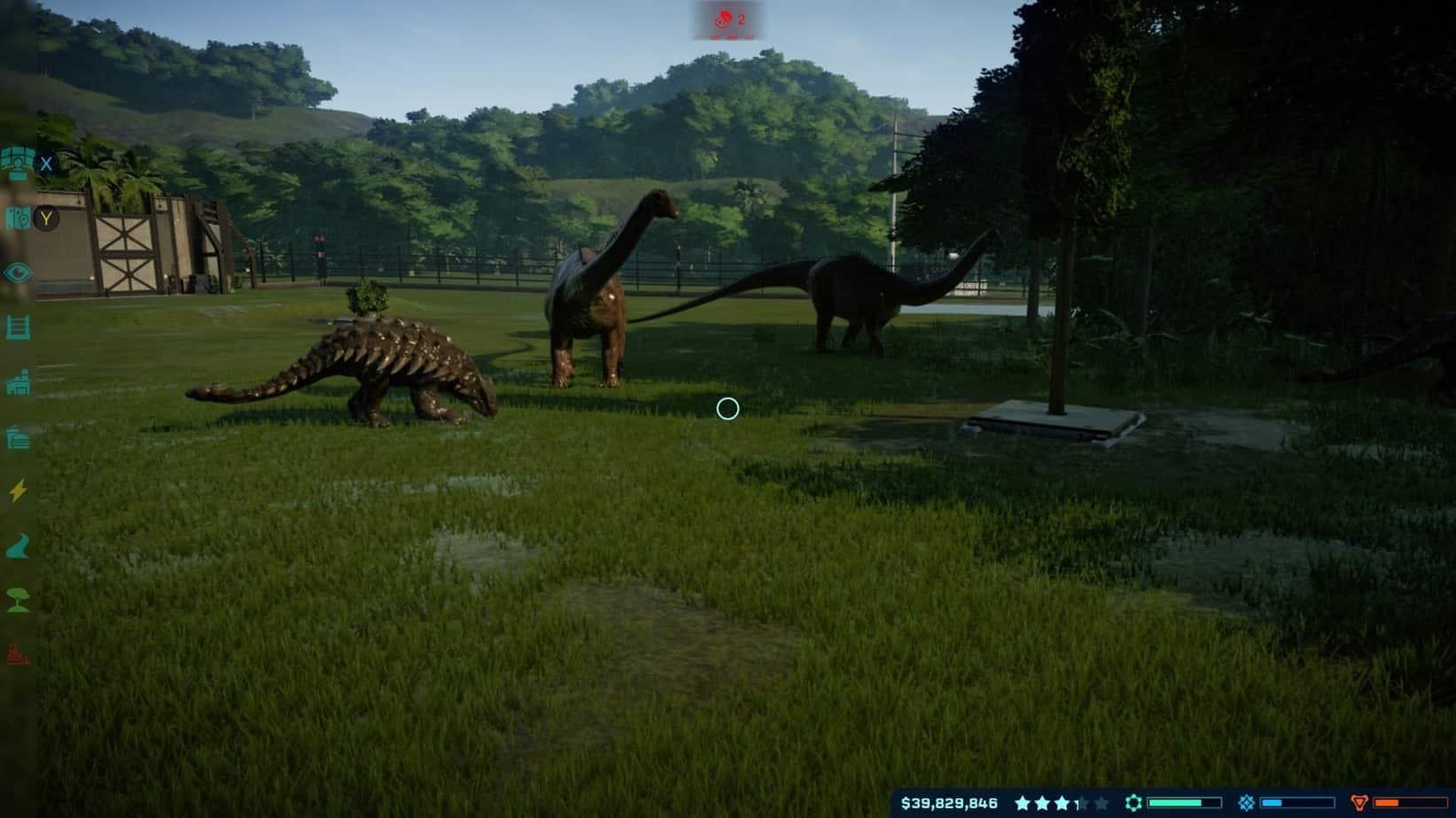 Jurassic World Evolution животные