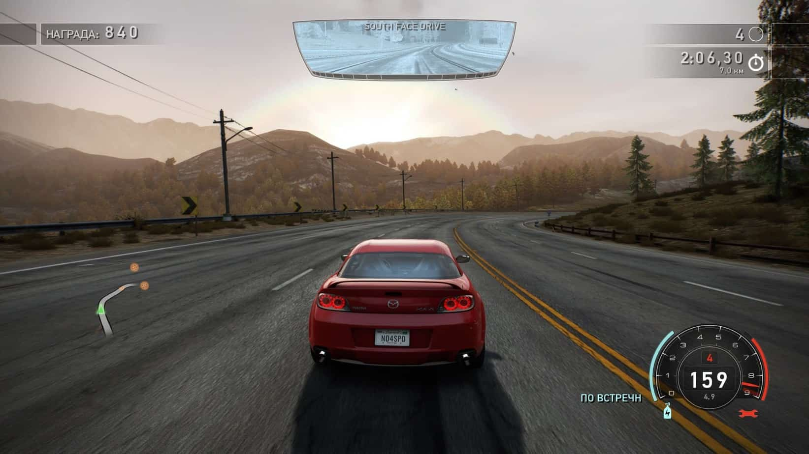 Need for Speed: Hot Pursuit Remastered геймплей