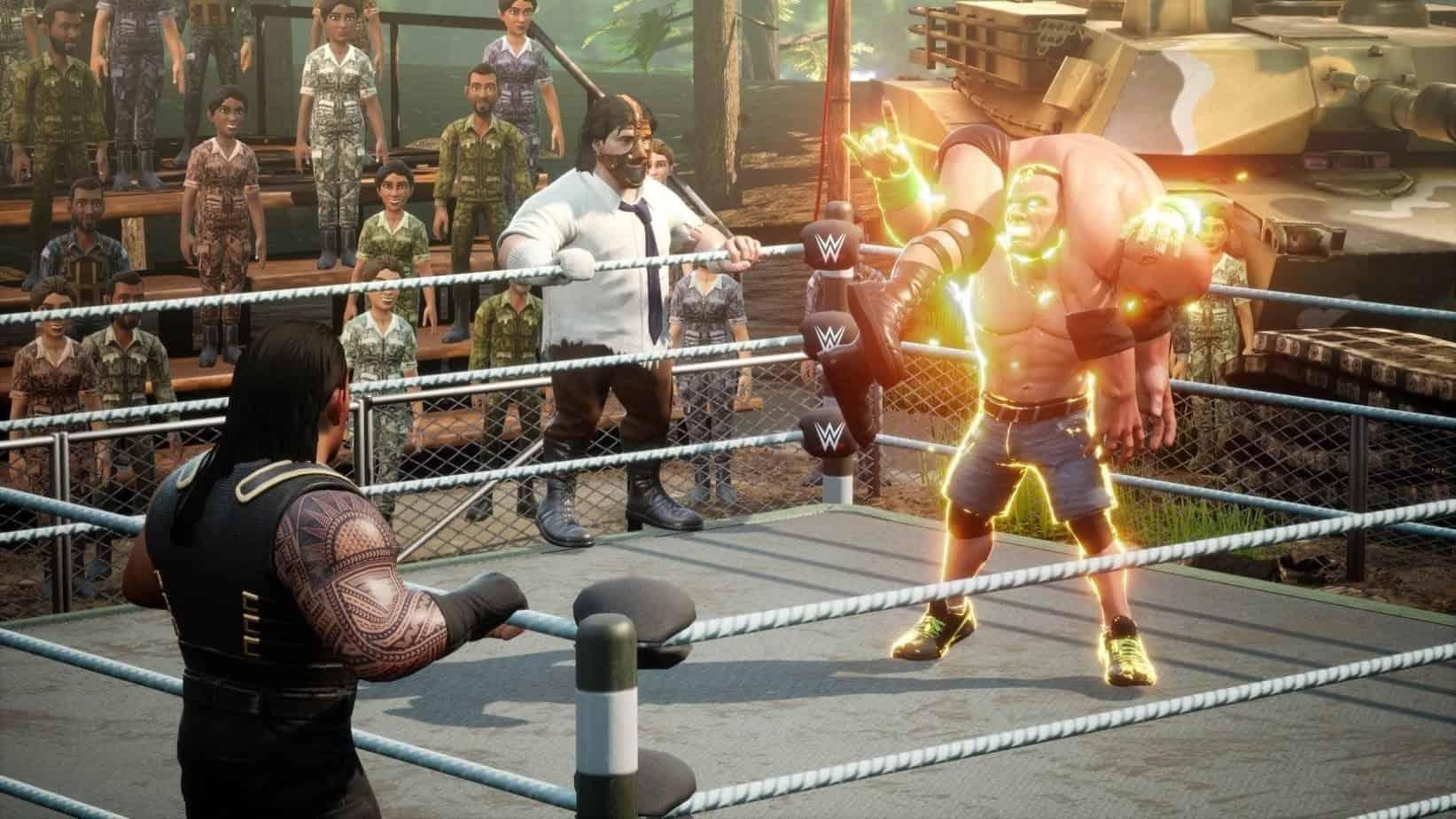 WWE 2k Battlegrounds игровая механика