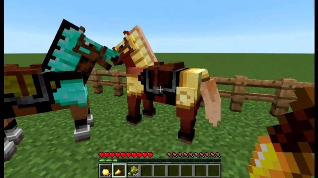 Экипировка в игре Minecraft