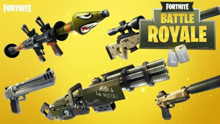 Оружие в игре Fortnite: подробный гайд
