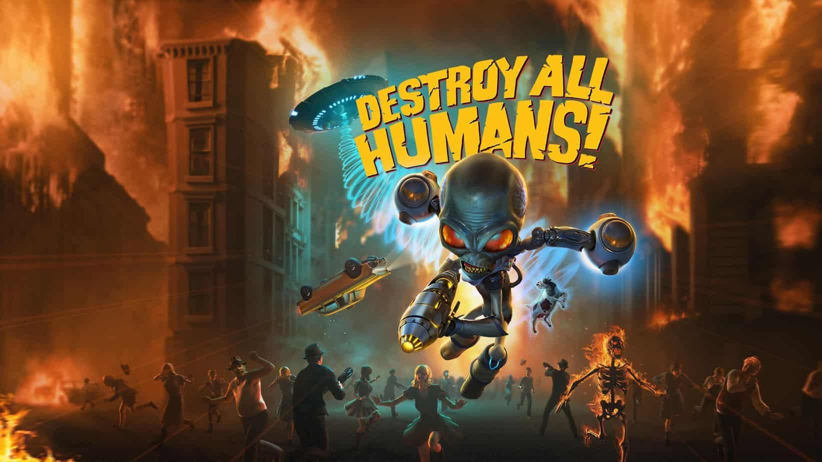 Destroy All Humans обзор игры