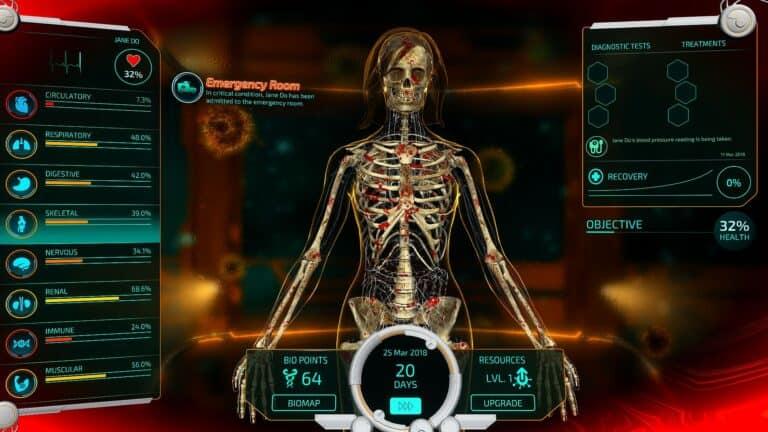 Обзор Bio Inc. Redemption – «Симулятор врача»