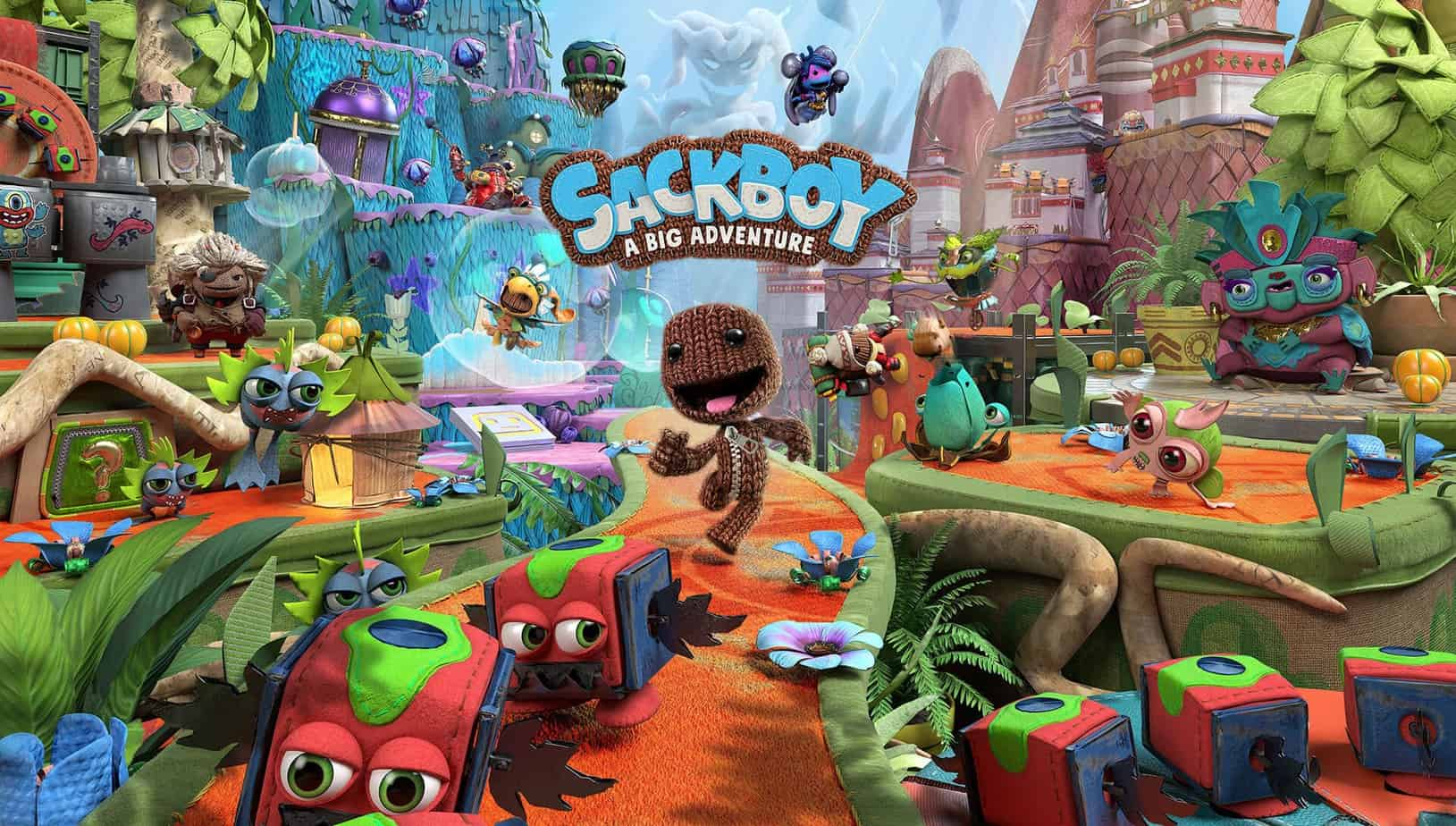 Sackboy: A Big Adventure графика проекта
