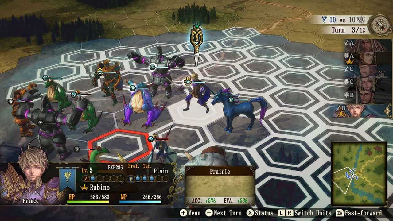 Brigandine: The Legend of Runersia фракции в игре