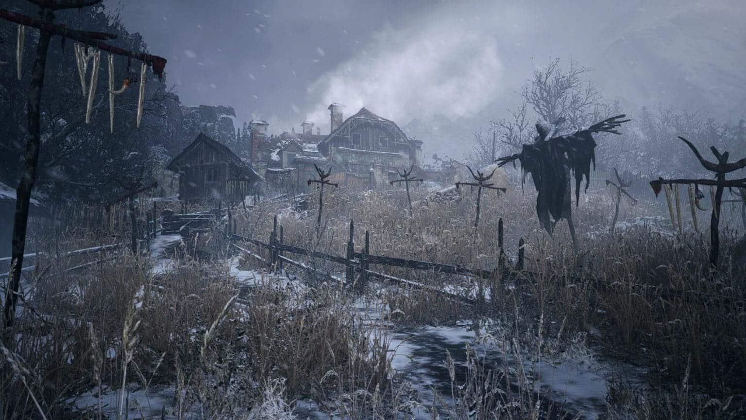 Resident Evil Village окружающий мир