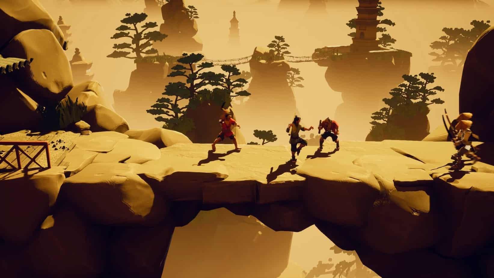9 Monkeys of Shaolin механика игры