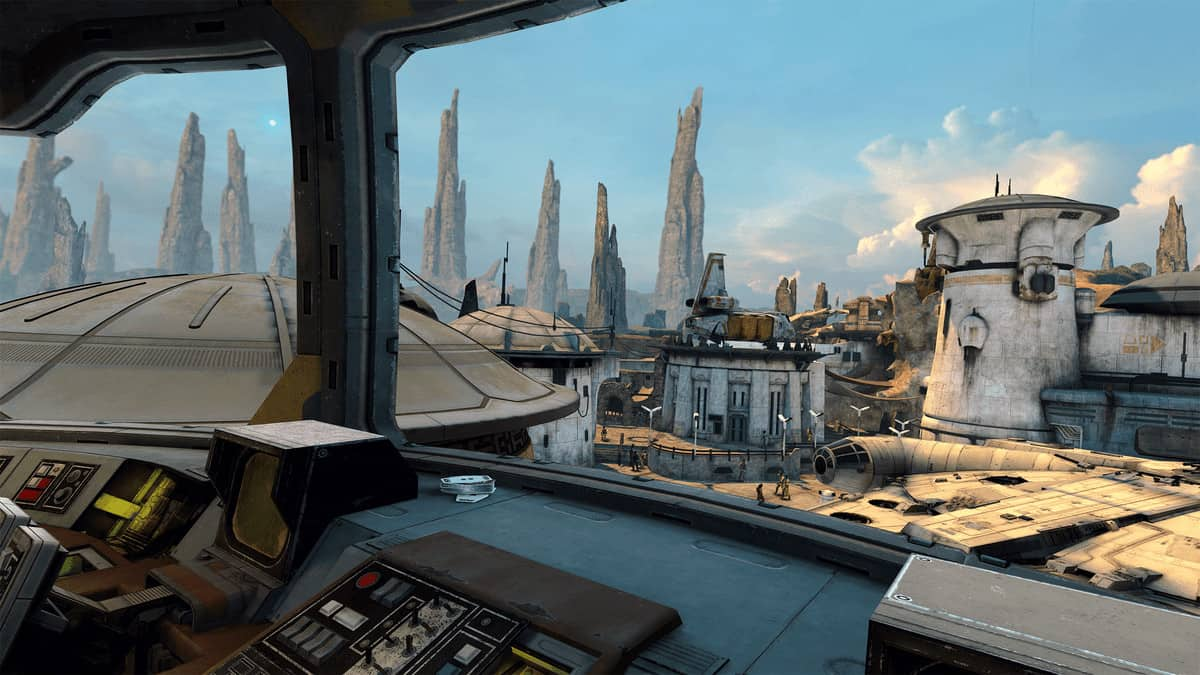 Star Wars: Tales from the Galaxy's Edge геймплей