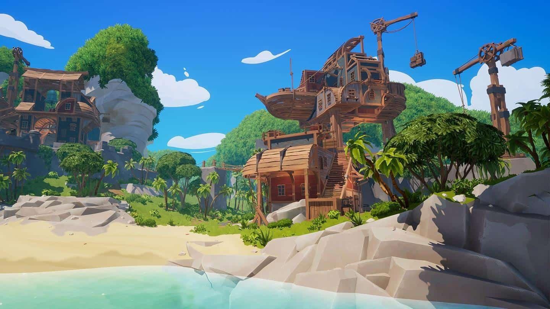 Blazing Sails: Pirate Battle Royale локации в игре