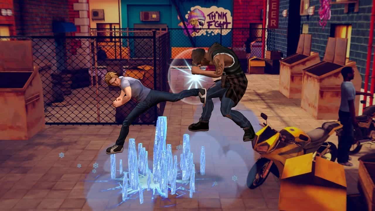 Cobra Kai: The Karate Kid Saga Continues управление в игре